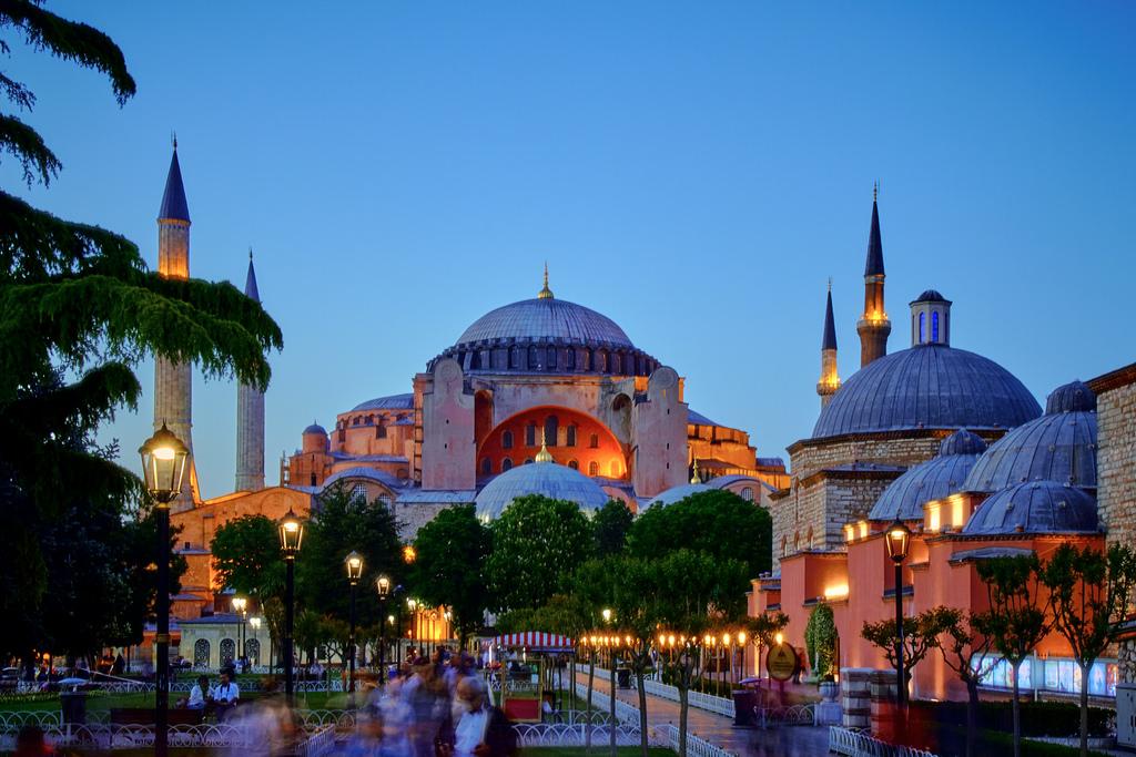 Tyrkiet oppefra