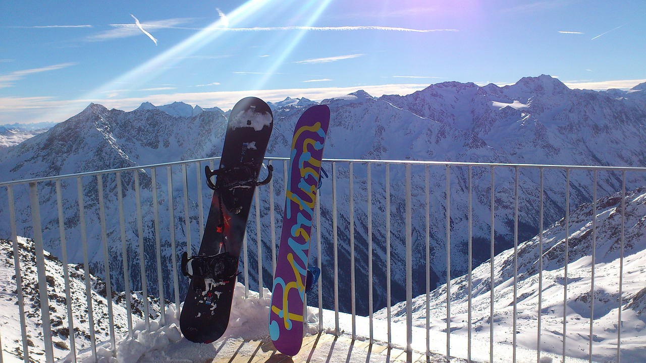 snowboard 2 stks